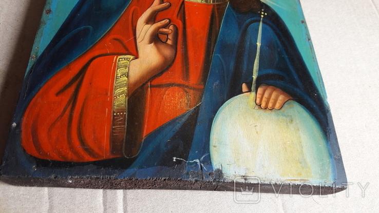 Икона Иисус Христос. ( дерево), фото №9