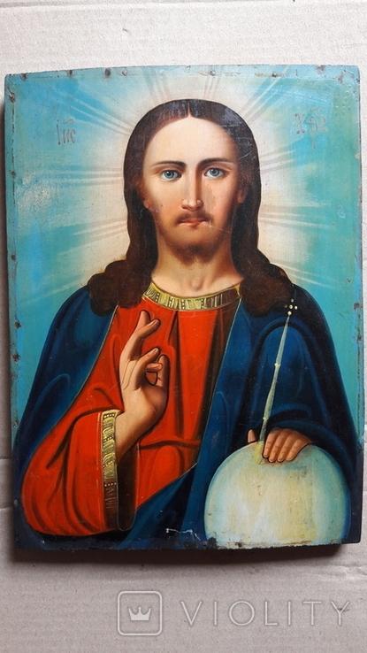 Икона Иисус Христос. ( дерево), фото №2