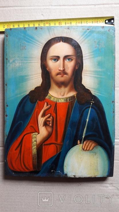 Икона Иисус Христос. ( дерево), фото №12