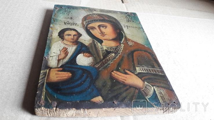 Икона Божьей Матери с Иисусом.( праворучная).2, фото №9