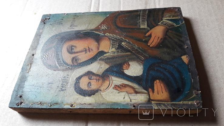 Икона Божьей Матери с Иисусом.( праворучная).2, фото №12