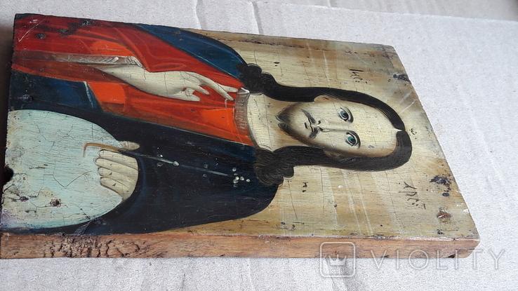Икона Иисуса Хреста.( дерево).1, фото №9
