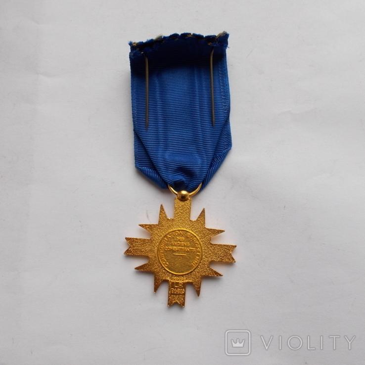 Франция. Крест европейской ассоциации бывших воинов. 1962 г., фото №4