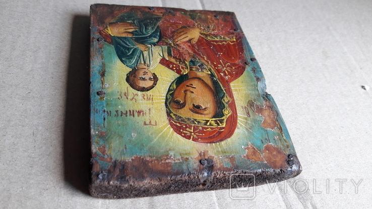 Икона Божьей Матери с Иисусом.( дерево) 4., фото №8