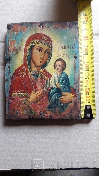 Икона Божьей Матери с Иисусом.( дерево) 4., фото №12