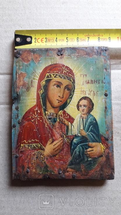 Икона Божьей Матери с Иисусом.( дерево) 4., фото №13