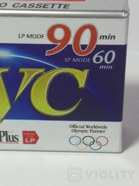 Видеокассета для видеокамер. В упаковке. Сделано в Японии., фото №3
