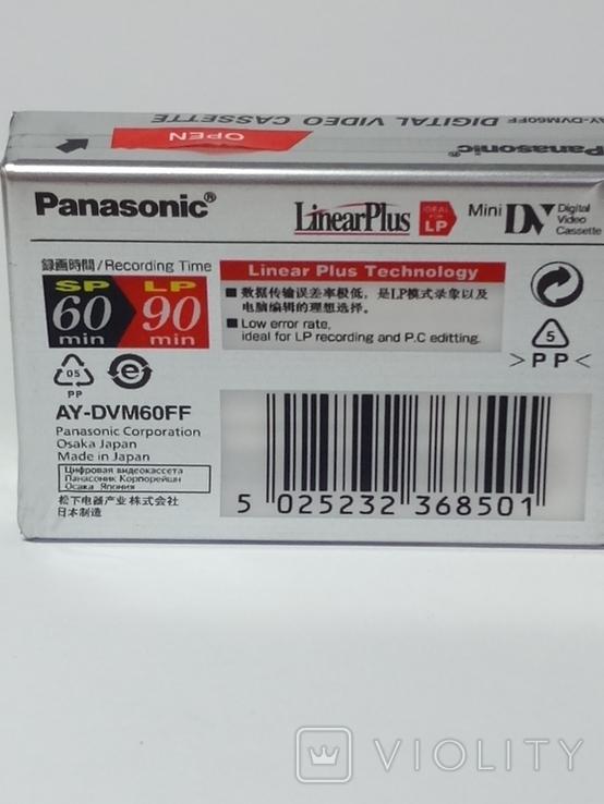 Видеокассета для видеокамер. В упаковке. Сделано в Японии., фото №6