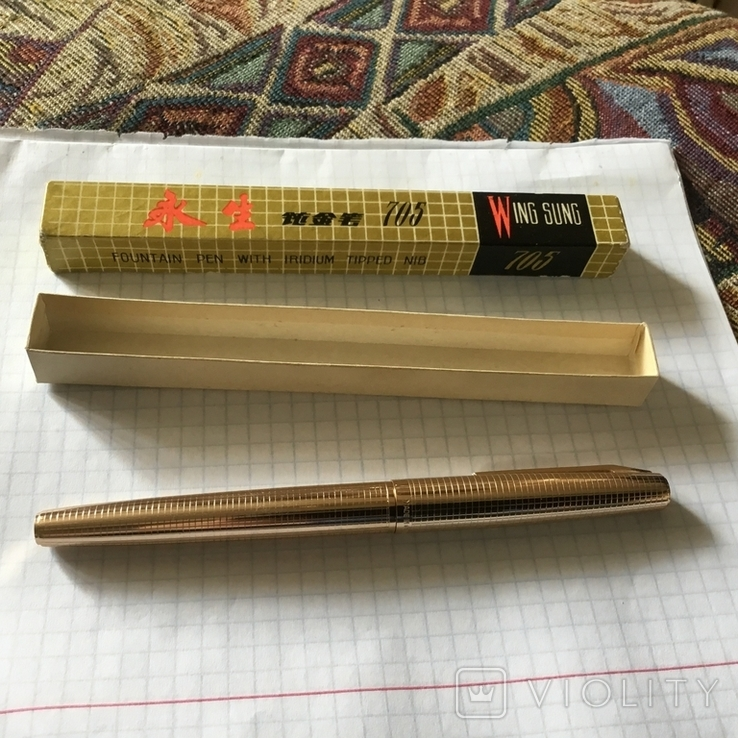 Ручка чернильная,Китай,Wing Sung., фото №4