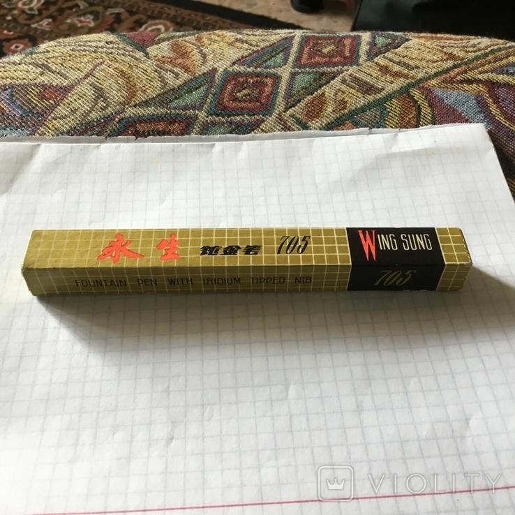 Ручка чернильная,Китай,Wing Sung., фото №5