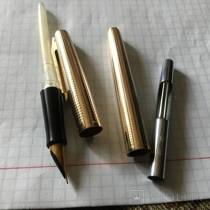 Ручка чернильная,Китай,Wing Sung., фото №7