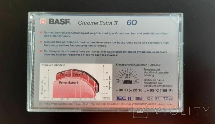 Касета BASF Chrome Extra II 60 (Release year: 1988), фото №3