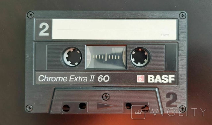 Касета BASF Chrome Extra II 60 (Release year: 1988), фото №5