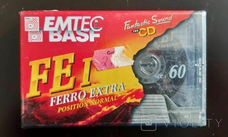 Касета BASF/EMTEC FE I 60 (Release year: 1996), фото №2
