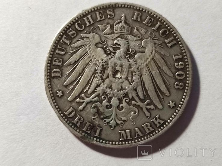 3 марки 1908, фото №3