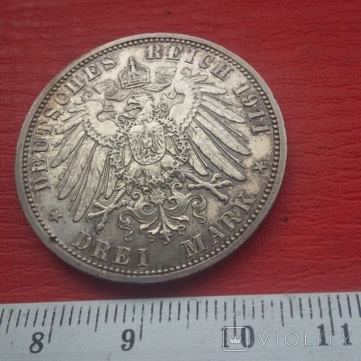 3 марки 1911 г, фото №10