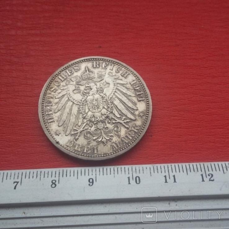 3 марки 1911 г, фото №13