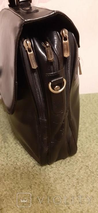 Фирменный портфель, сумка Wittchen, кожа, фото №10