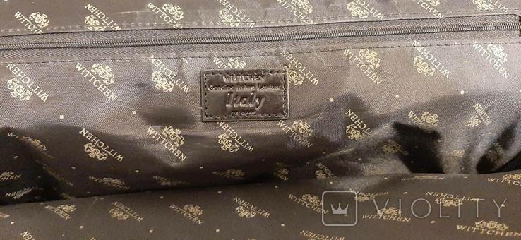 Фирменный портфель, сумка Wittchen, кожа, фото №11