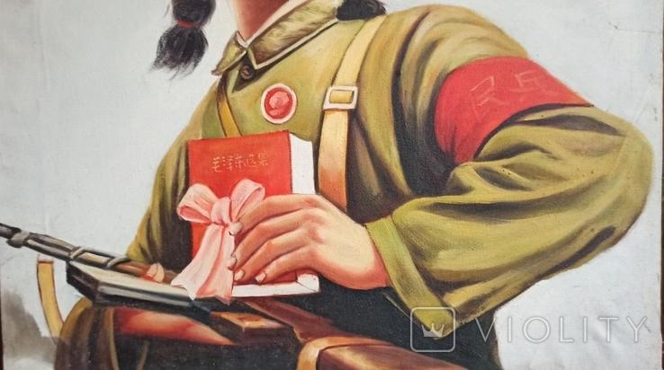 Революция вперед! Китай. 90*60 см., фото №6