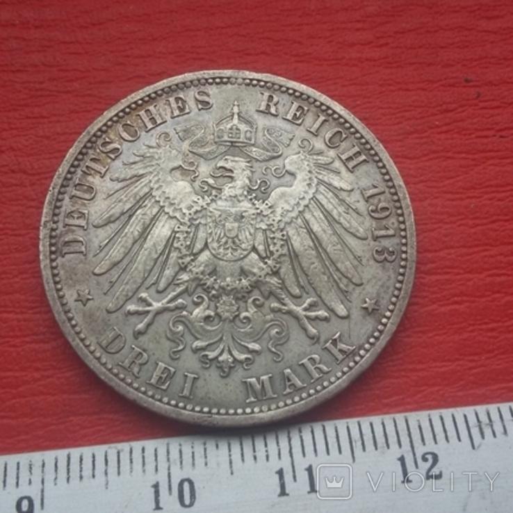 3 марки 1913 г, фото №9