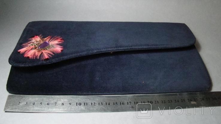 Сумочка-клатч СССР Чехословакия, фото №8