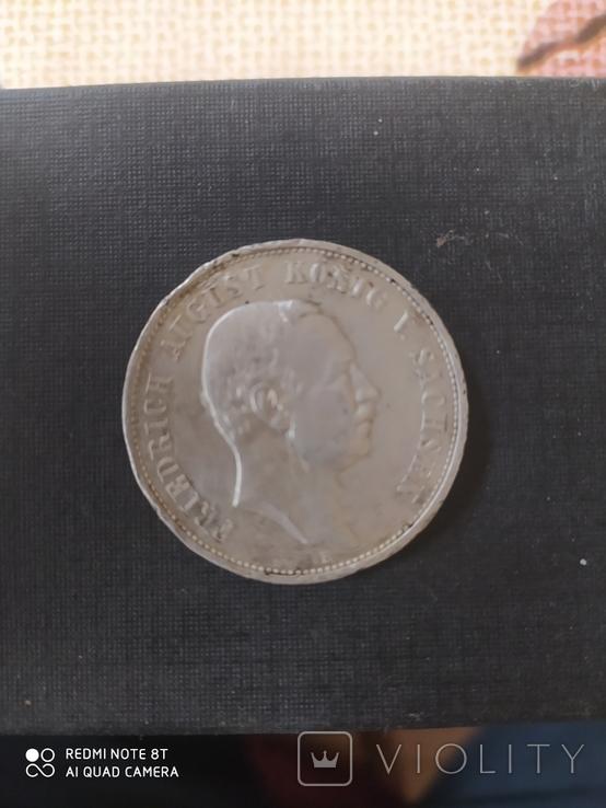 3 марки 1912 р Е Фрідріх Август, фото №3