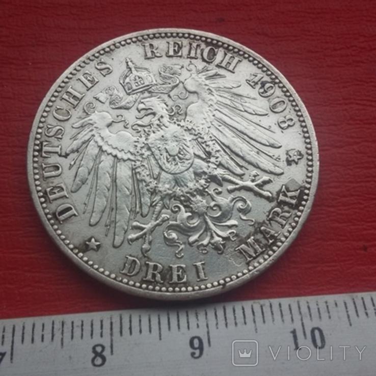3 марки 1908 г, фото №10