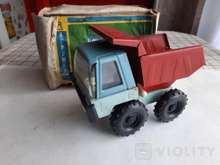 Машинка Грузовик ссср, фото №2