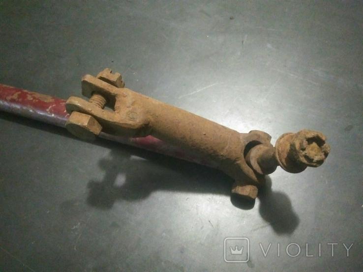 Кронштейн, тяга коляски мотоцкла Ява ?, фото №4