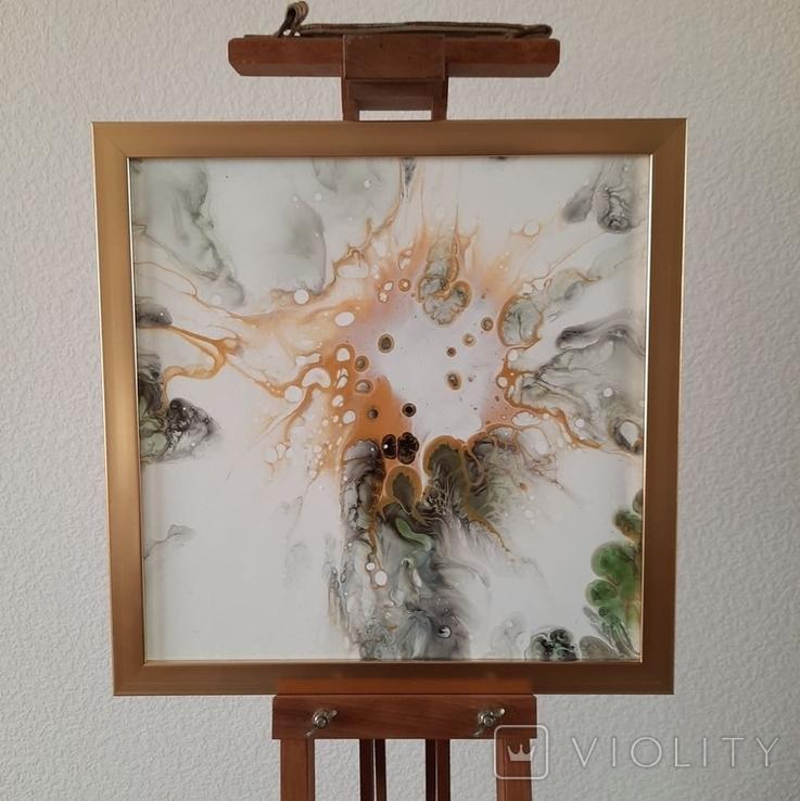 Картина живопис абстракція Fluid Art #54 acrylic, фото №2