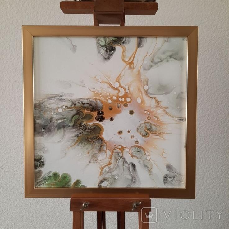 Картина живопис абстракція Fluid Art #54 acrylic, фото №3