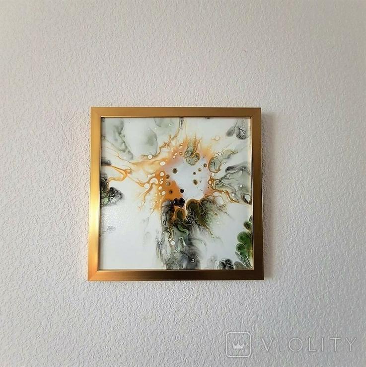 Картина живопис абстракція Fluid Art #54 acrylic, фото №11
