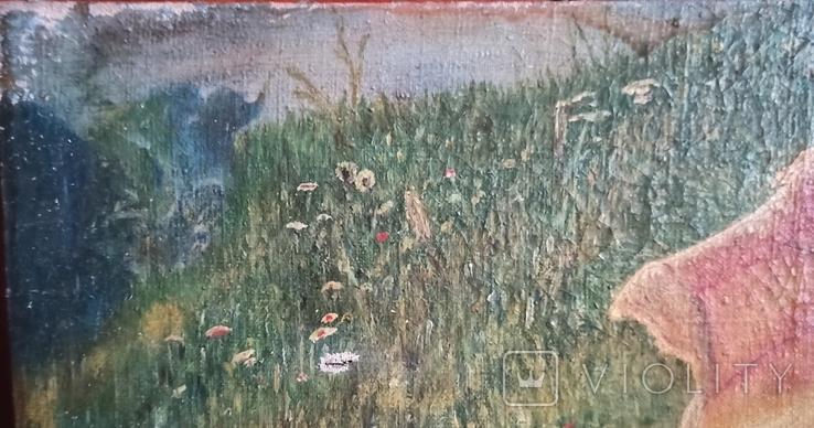 Женщина под зонтиком. Копия. 56*42 см., фото №3