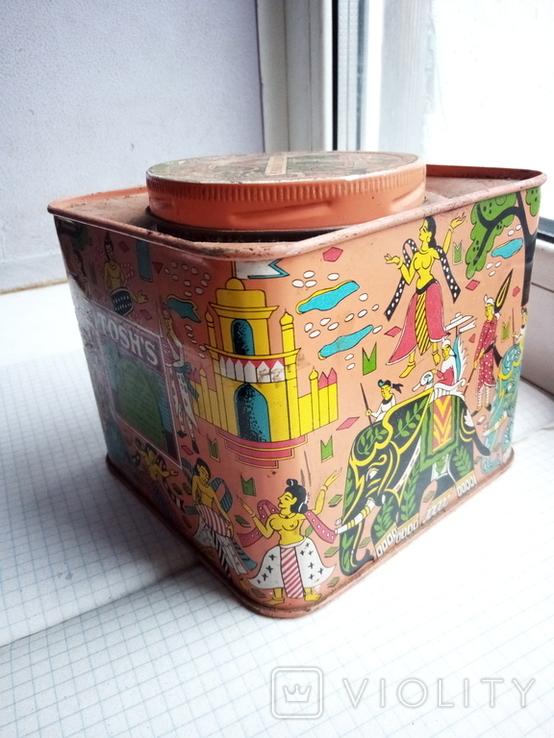 Старая коробка от чая, фото №3
