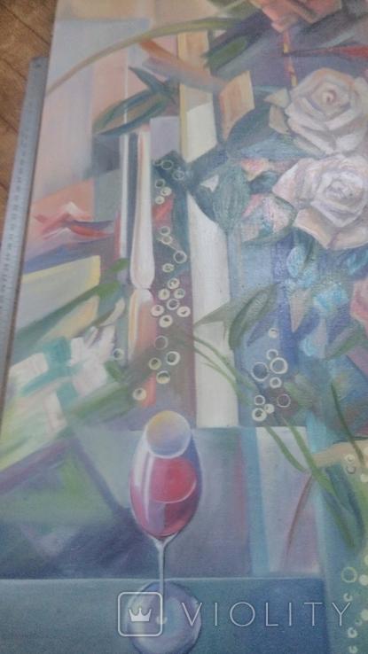 Розы абстракция, фото №4
