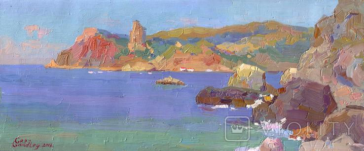 Картина. Море, Балаклава (Крим).