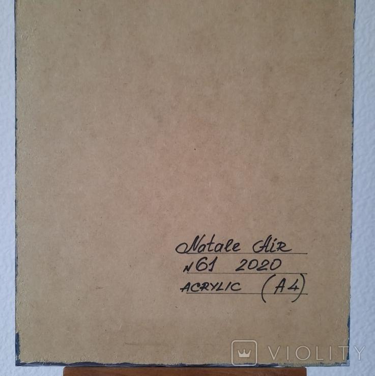 Картина/ живопис/ абстракція Fluid Art #61 acrylic, фото №13