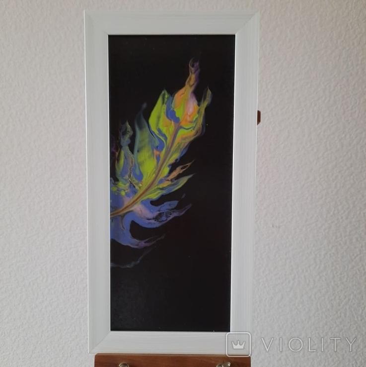 Картина/триптих/ живопис/ абстракція Fluid Art #63 acrylic, фото №8