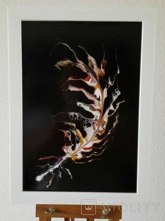 Картина/ живопис/ абстракція Fluid Art #64 acrylic, фото №2