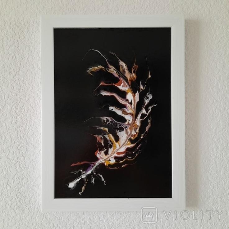 Картина/ живопис/ абстракція Fluid Art #64 acrylic, фото №7