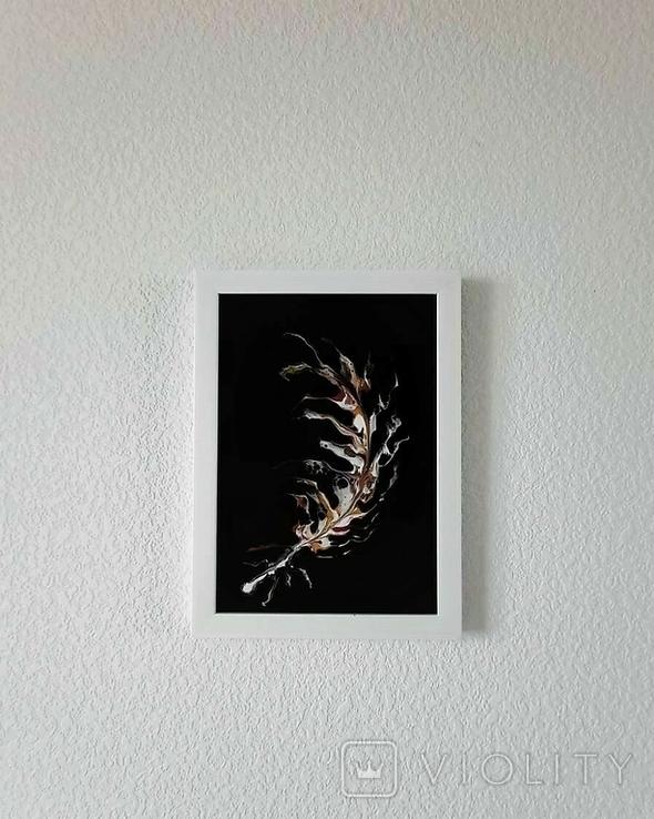 Картина/ живопис/ абстракція Fluid Art #64 acrylic, фото №8