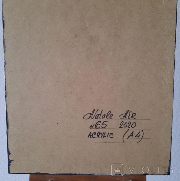 Картина/ живопис/ абстракція Fluid Art #65 acrylic, фото №13