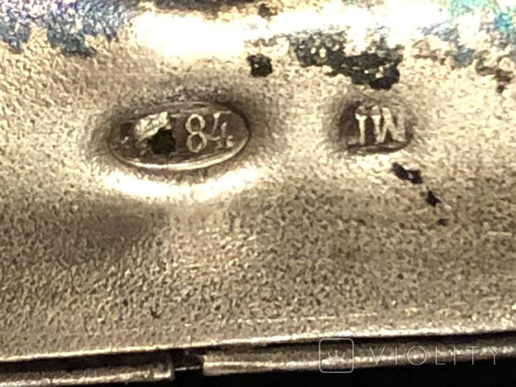 Дамская сумочка. Серебро 84, фото №12