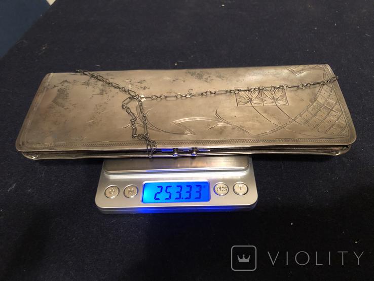 Дамская сумочка. Серебро 84, фото №13