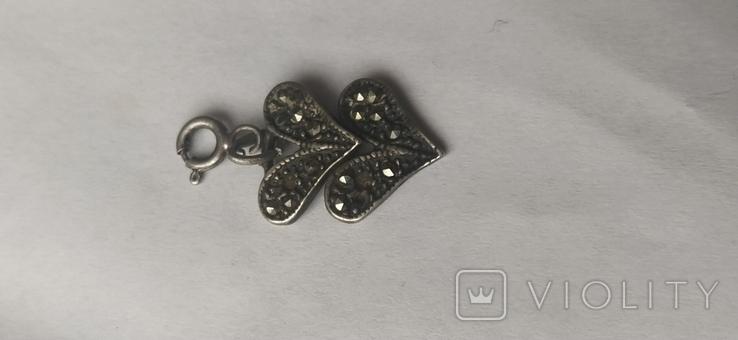 Срібний кулон, фото №4