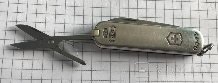 Перочинный ножик в серебре TIFFANY, фото №5