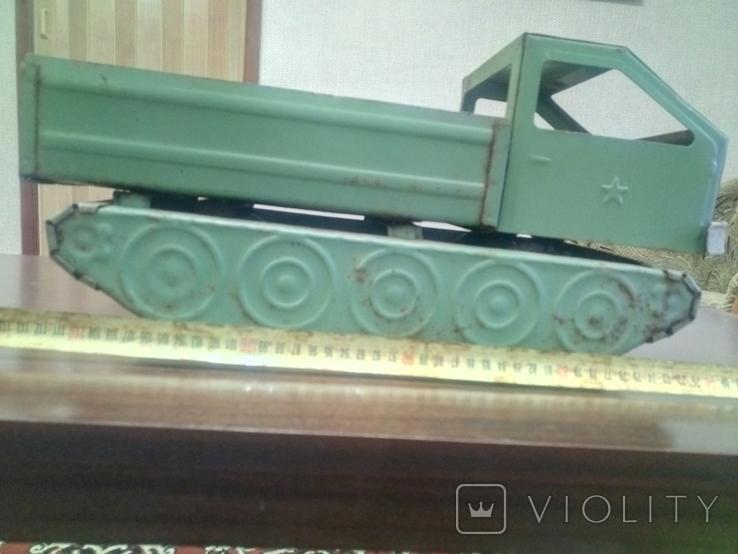 Військовий тягач ЗАПОРОЖСТАЛЬ, фото №3