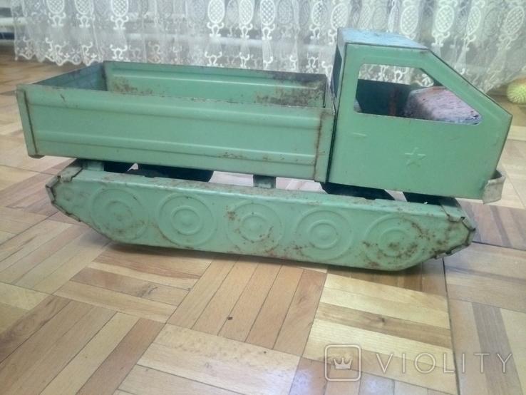 Військовий тягач ЗАПОРОЖСТАЛЬ, фото №2