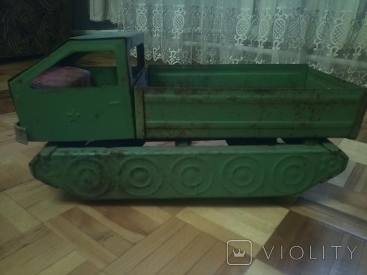 Військовий тягач ЗАПОРОЖСТАЛЬ, фото №9